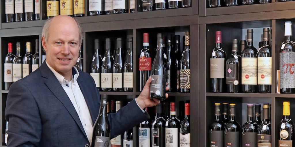 Bert Nollen van Proef! Wijnwinkel